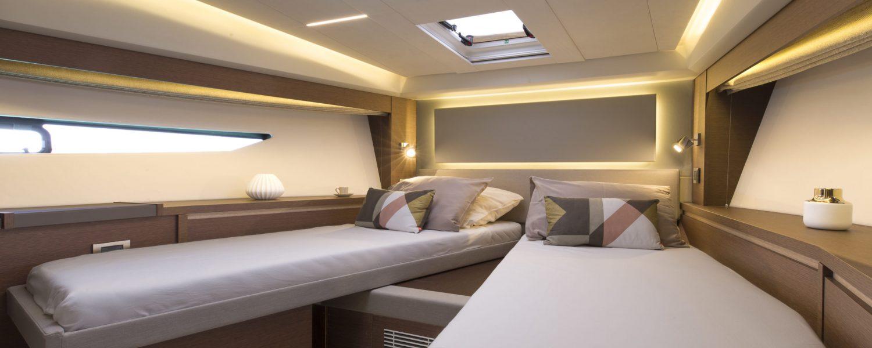 Belle Ile le 30/05/2017, la nouvelle Prestige 520.Photo © Jean-Marie LIOT pour Prestige Yacht