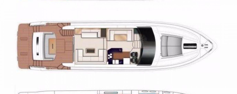 Princess 64 Deck Plan